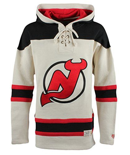 competitive price 8bca2 17d4a NHL New Jersey Devils Men's Vintage Lacer Heavyweight Hoodie ...
