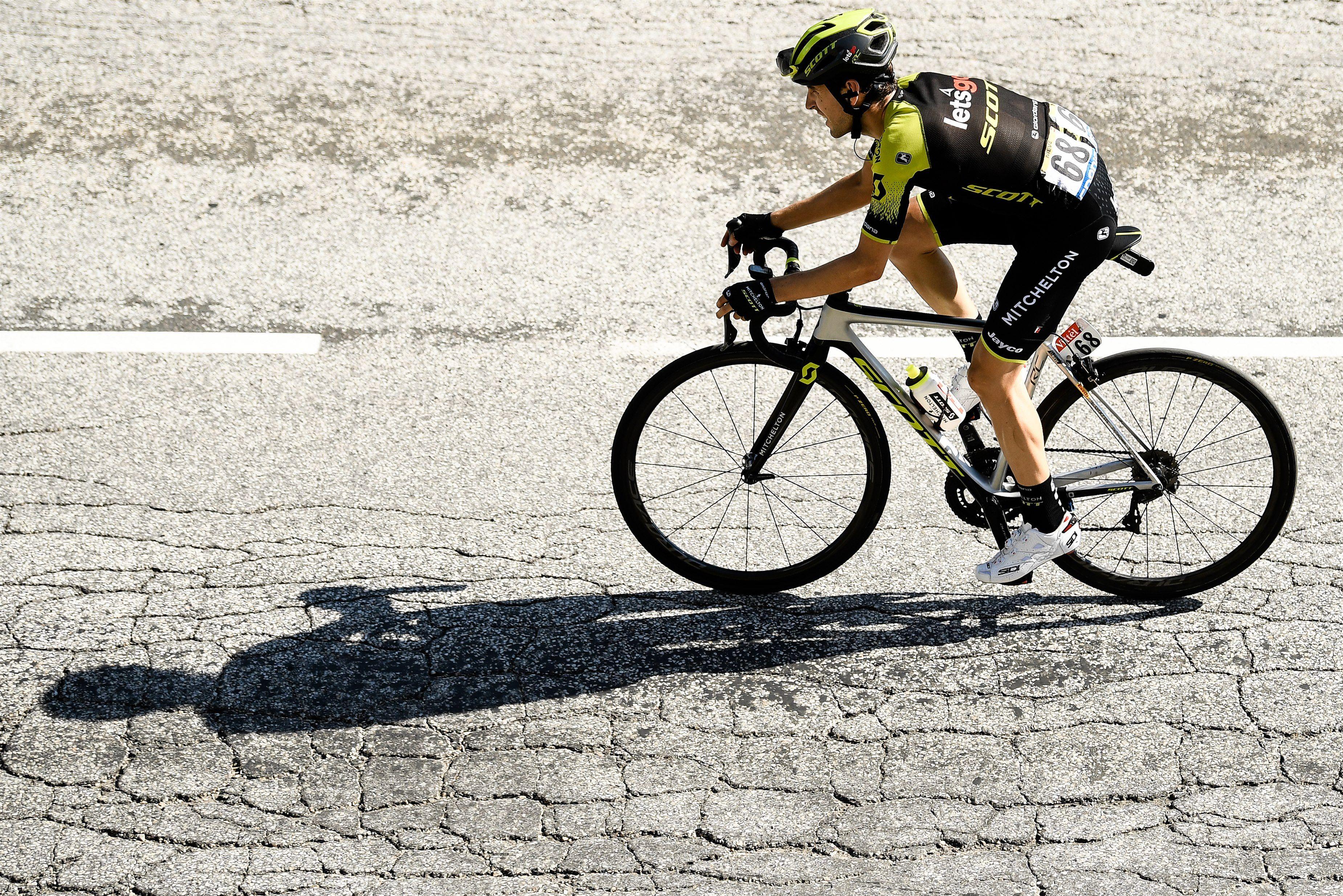 El Corredor Espanol Del Mitchelton Scott Mikel Nieve Confia En Mejorar Los Resultados De La Temporada Pasada Que No Fue Su Mejor An En 2020 Ciclismo Nieve Corredores