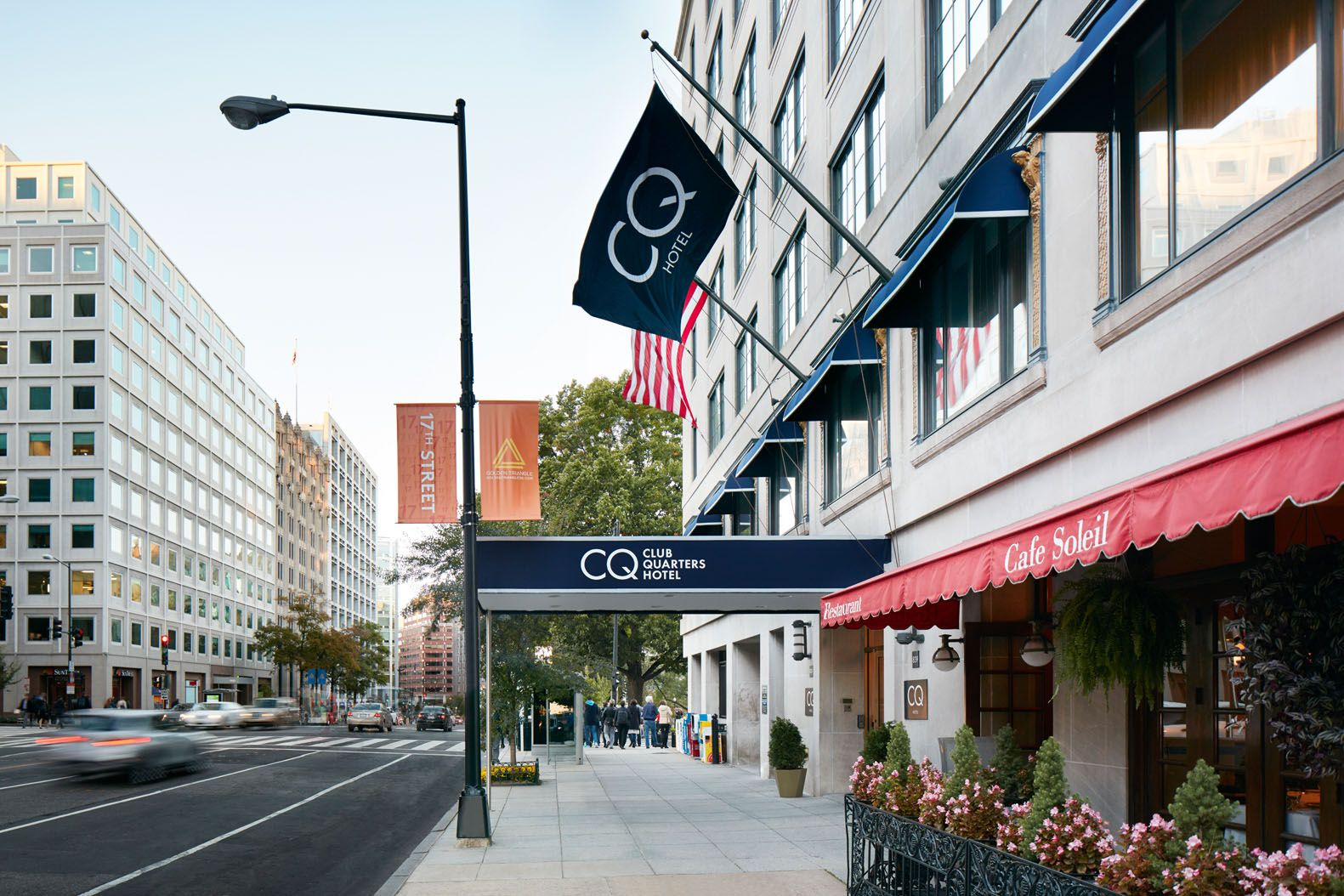 Club Quarter Hotel in DC is in close proximity to The