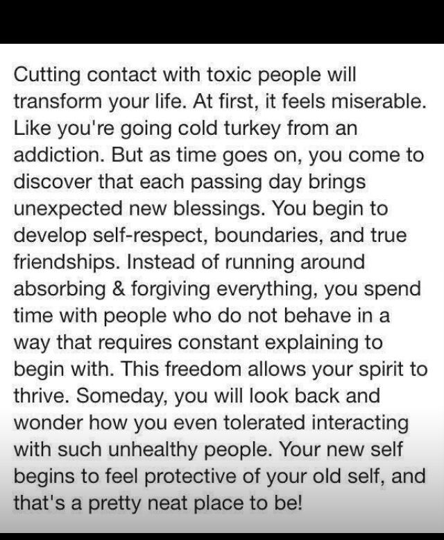 How to say goodbye to a toxic relationship