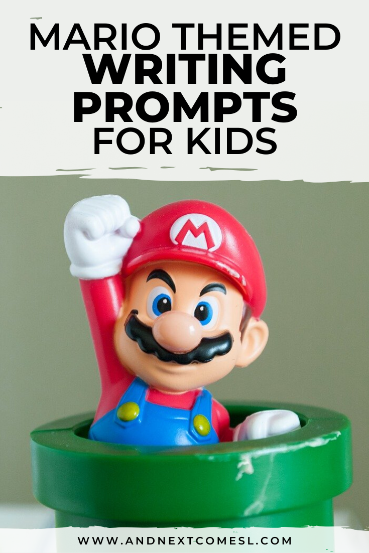 Mario Themed Writing Prompts For Kids Free Printable Writing Prompts For Kids Kids Writing Business For Kids [ 1102 x 735 Pixel ]