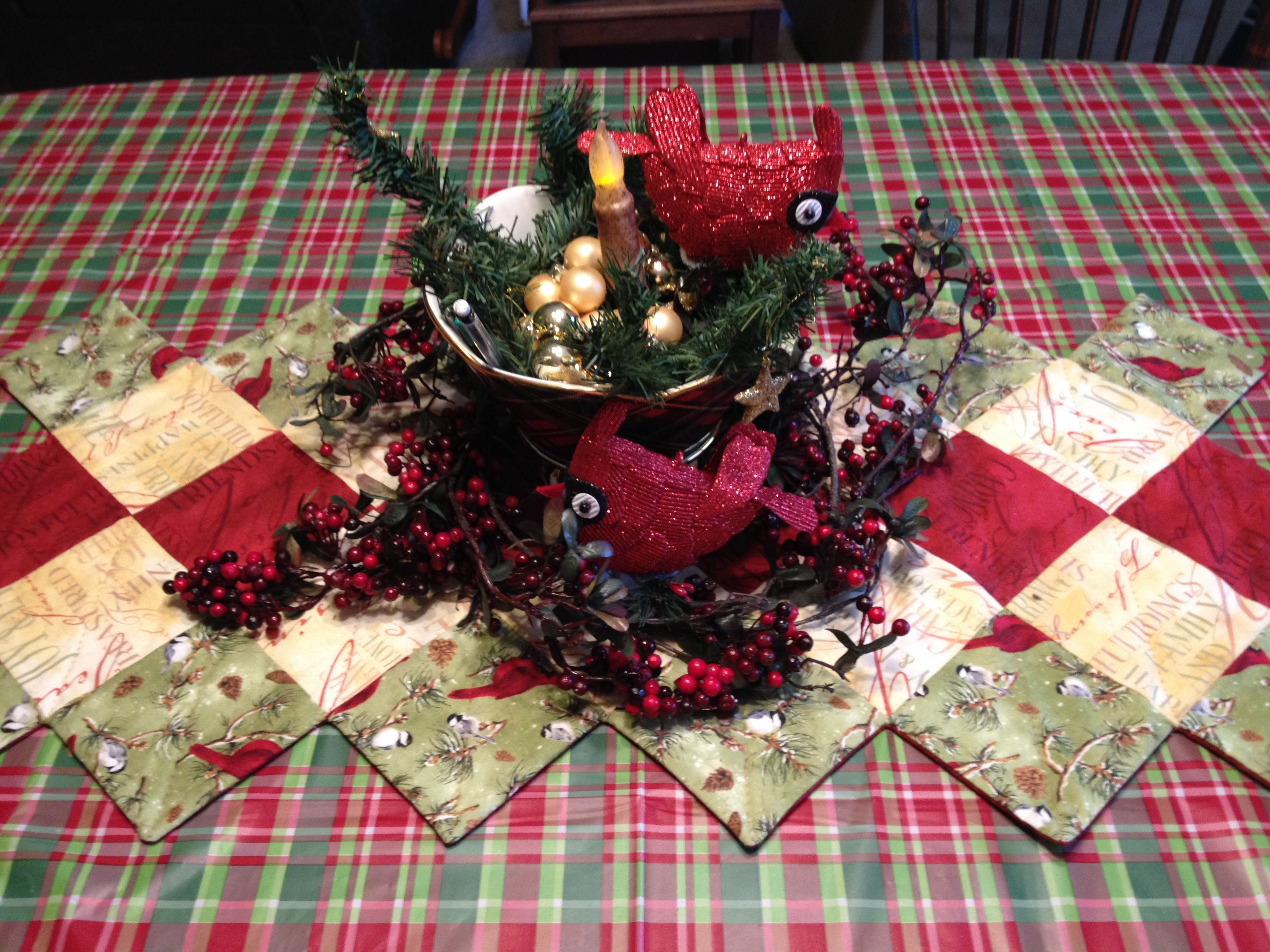 Discover Ideas About Plaid Christmas Plaid Christmas Table Decor 2016