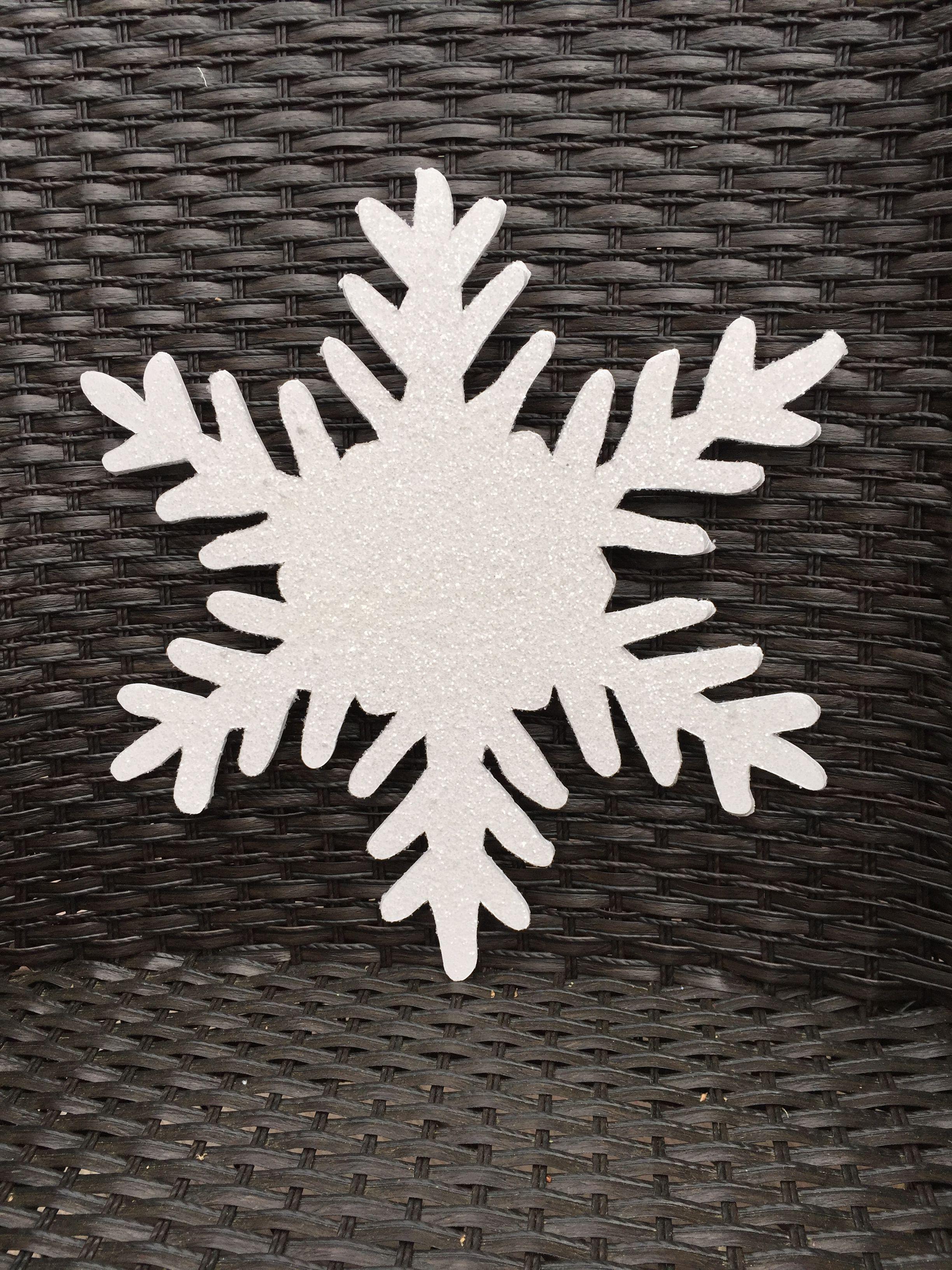 Diy Giant Snowflake