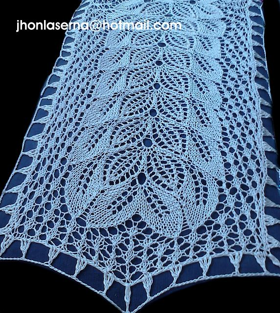 clara table runner pattern by Jhon Laserna | Pinterest | Ravelry ...
