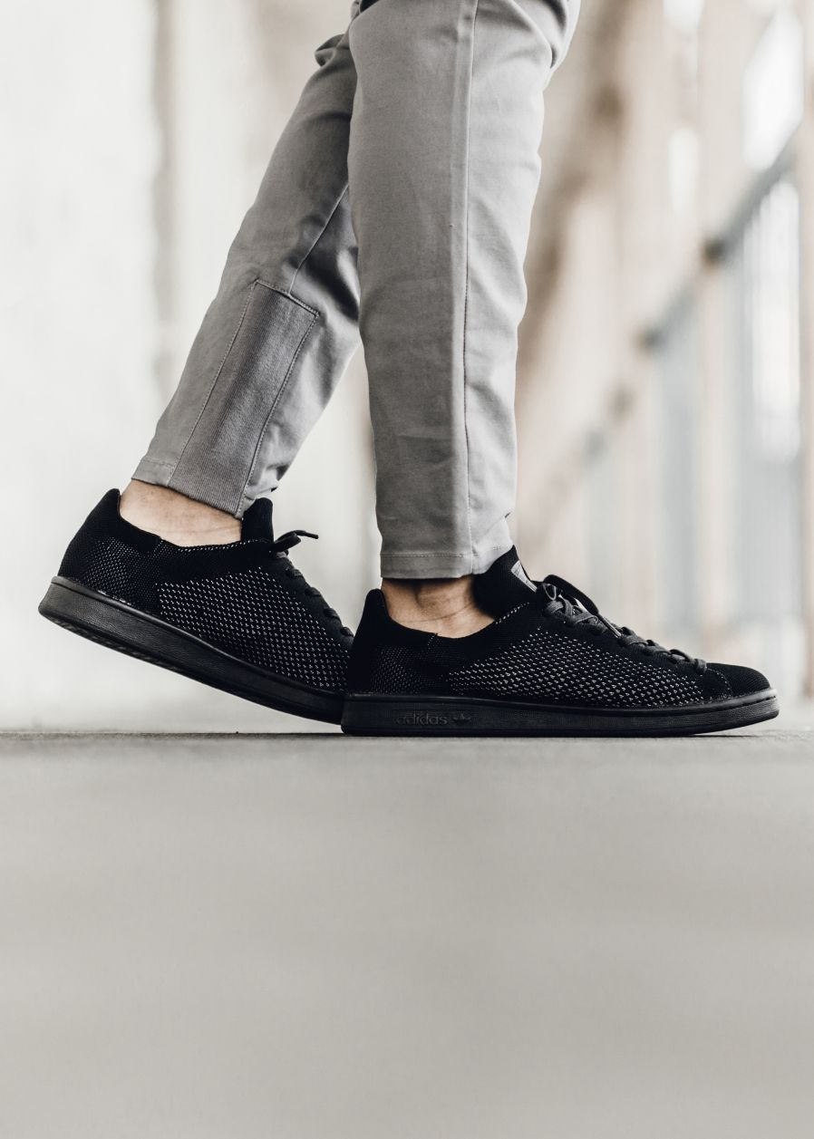 Adidas Stan Smith 'Black Primeknit' #Adidas #StanSmith #Fashion #Streetwear  #