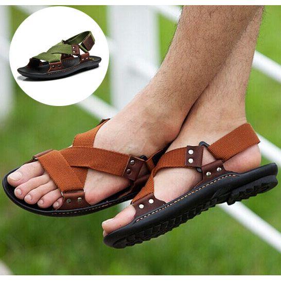 De las mujeres Zapatos planos sandalias De estilos de ocio abrochados 7x3J92p