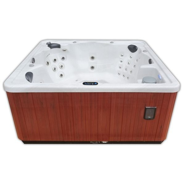 Home And Garden Spas 6 Person 80 Jet Hot Tub With Mp3 Aux Output