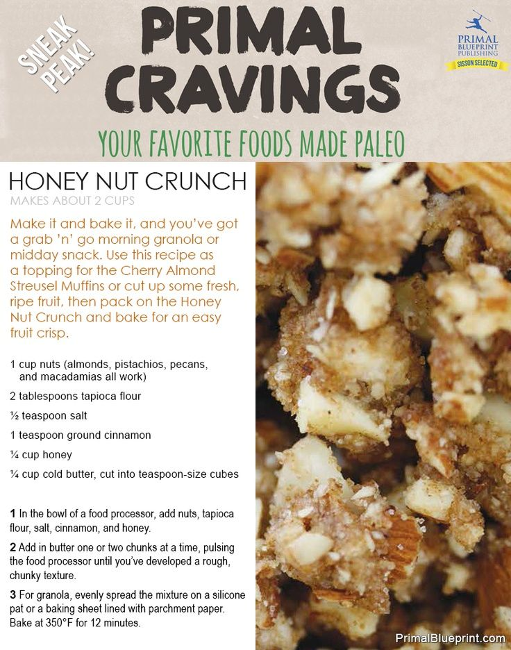 Introducing primal cravings free recipes grain free and granola malvernweather Image collections