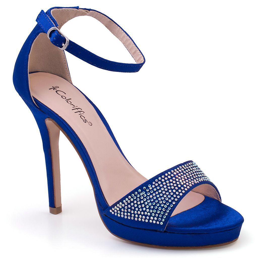 Ankle Strap Dress High Heels
