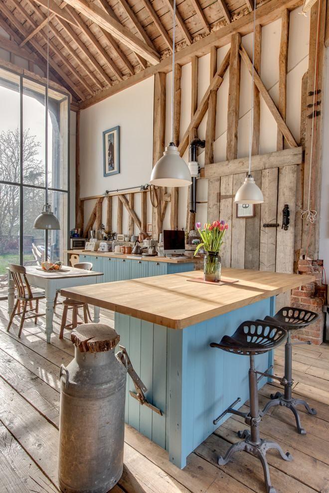 As Melhores Referências De Cozinhas Rústicas Decoradas Para Você Se  Inspirar. São 70 Modelos E