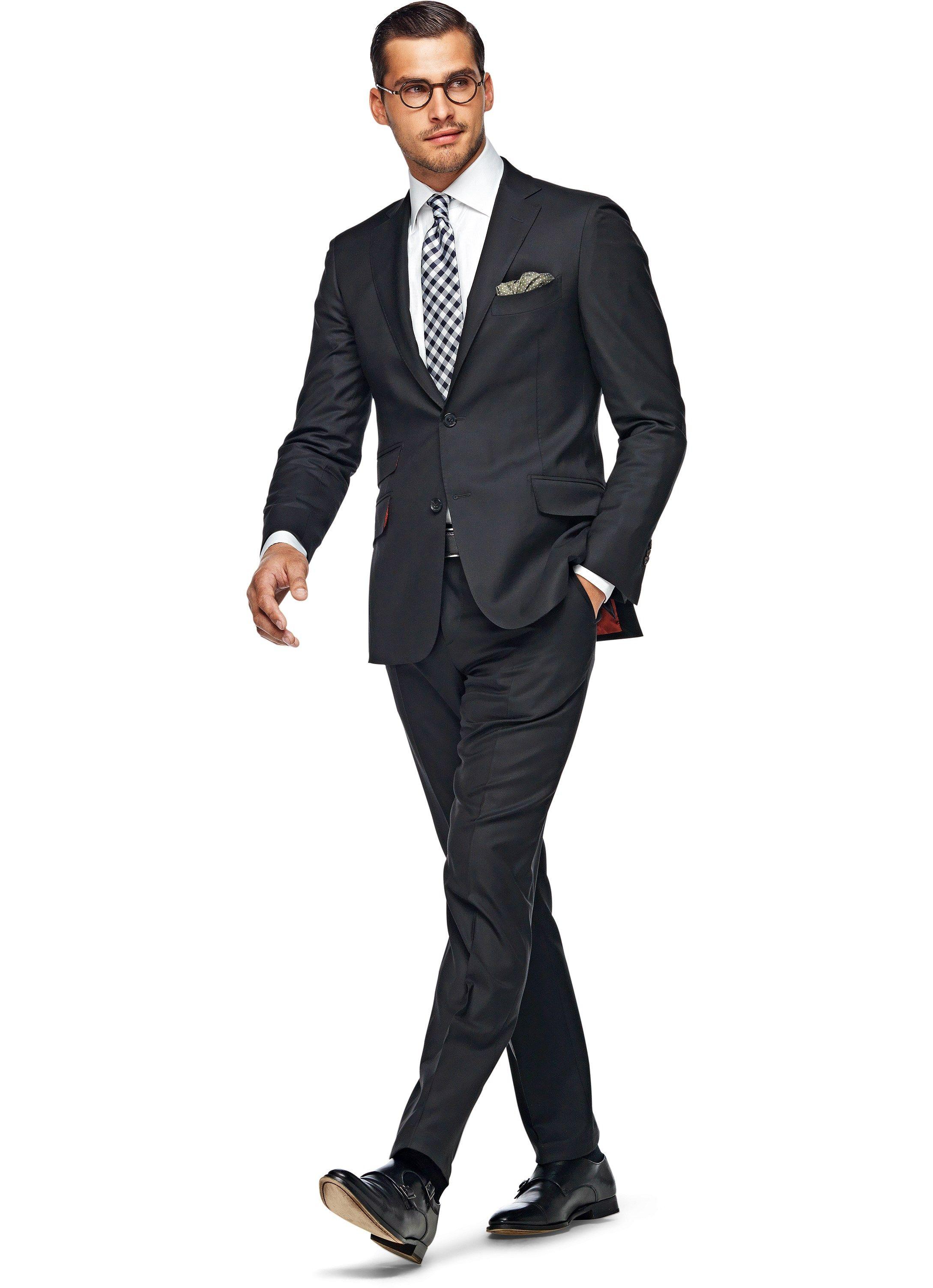Suit Black Plain Sienna P3599i | Suitsupply Online Store | Suiting ...