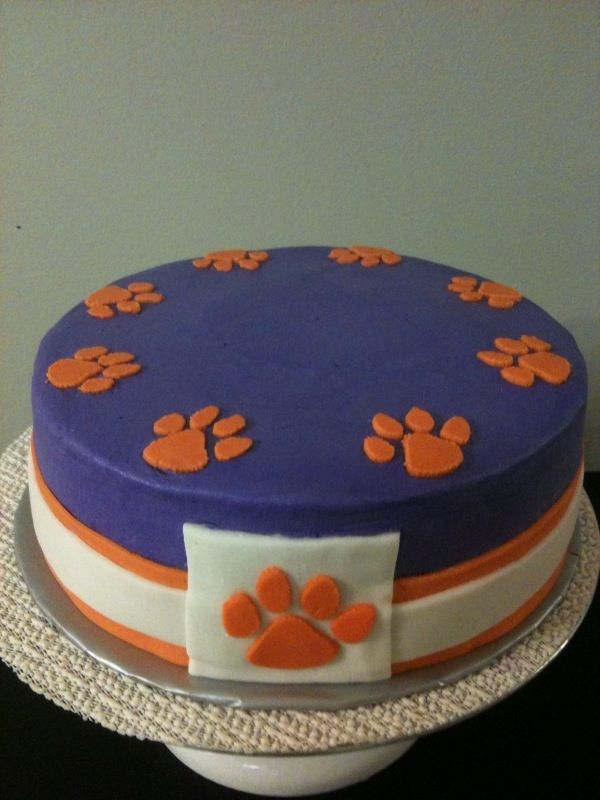 Clemson Cakes Pinterest Clemson Tigers Tigers And Cake - Clemson birthday cakes