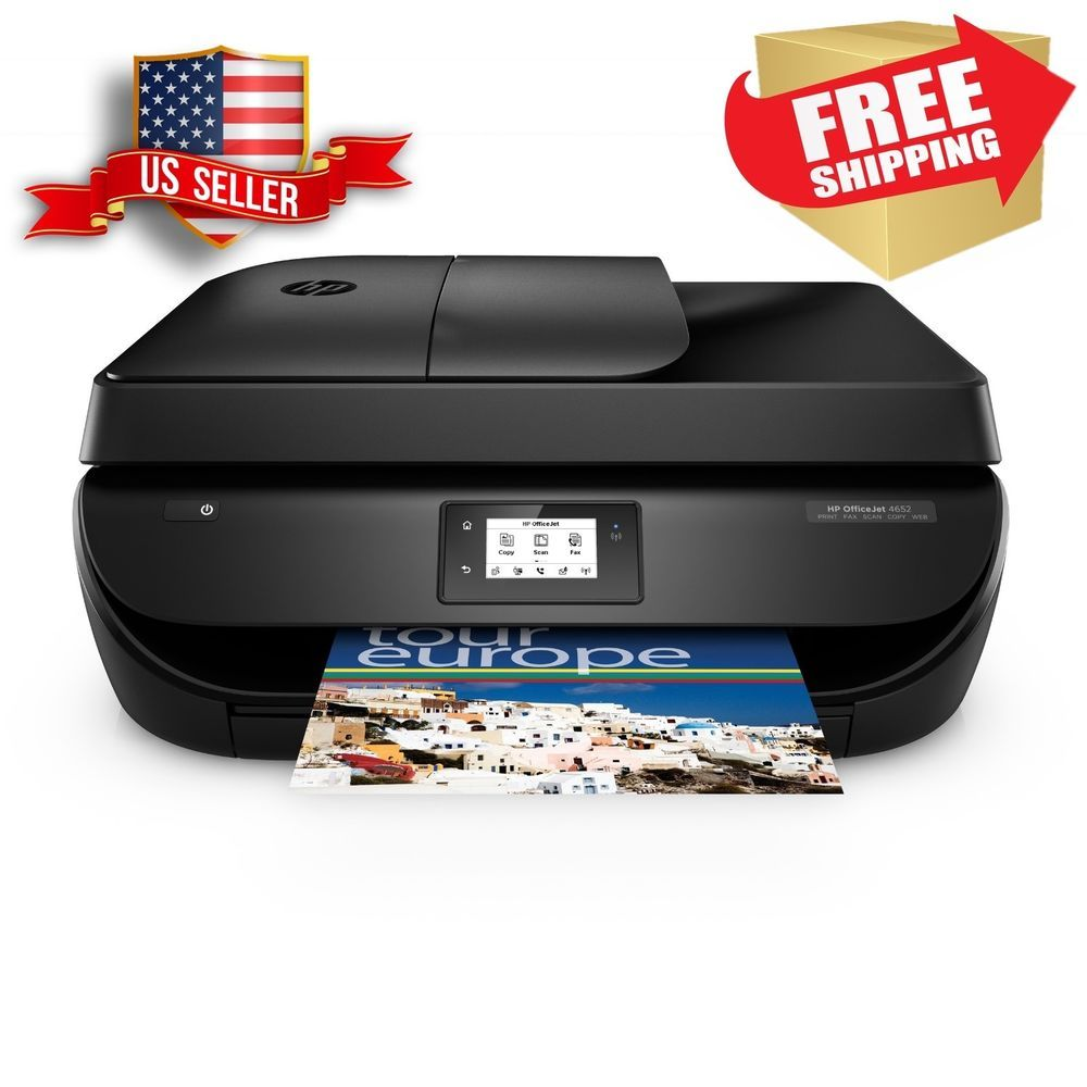 Hp Printer Scanner Officejet All In One Copier Fax Wireless Usb Wi