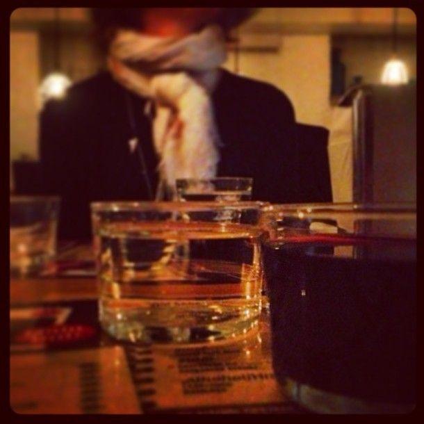 From Restaurant Pinchos in Gothenburg / Sweden– Non ordinary wine glass