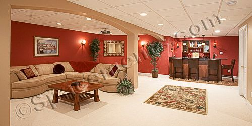 finished basement bar. Finished Basement Design And Remodeling Projects By Spacements  Inc