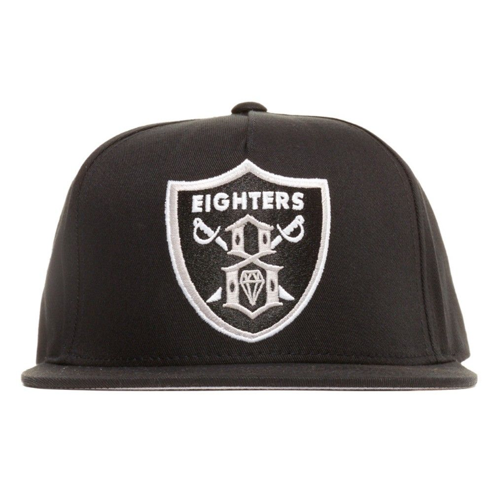 Rebel8 Eighters black snapback cap - Hats - Clothing  7e163166342