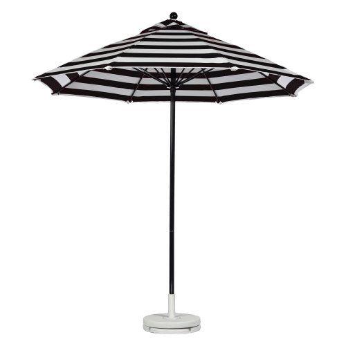 Black And White Umbrella Need This Patio Market