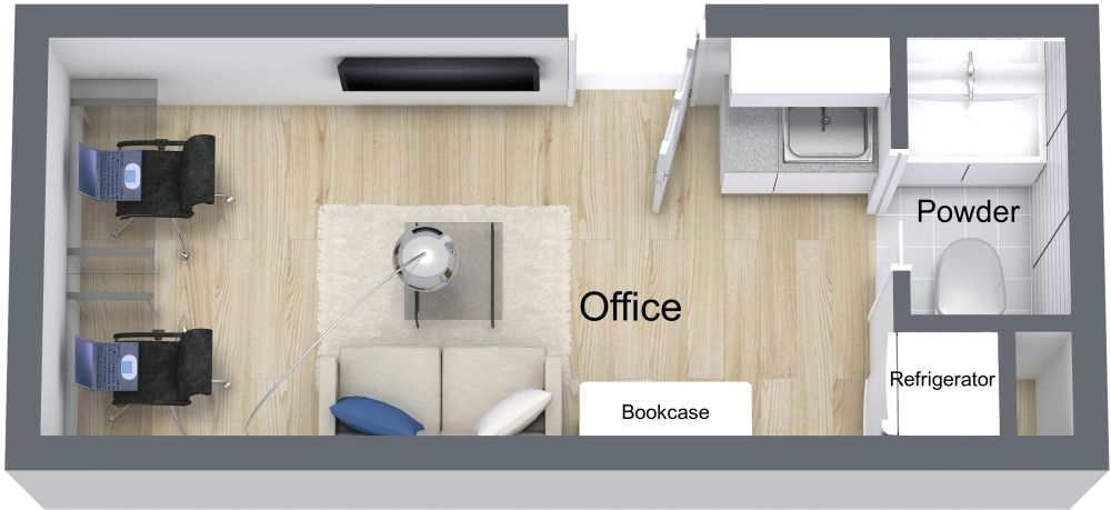 Diagram Of Bunkhouse The Office Custom Container Living Storage Container