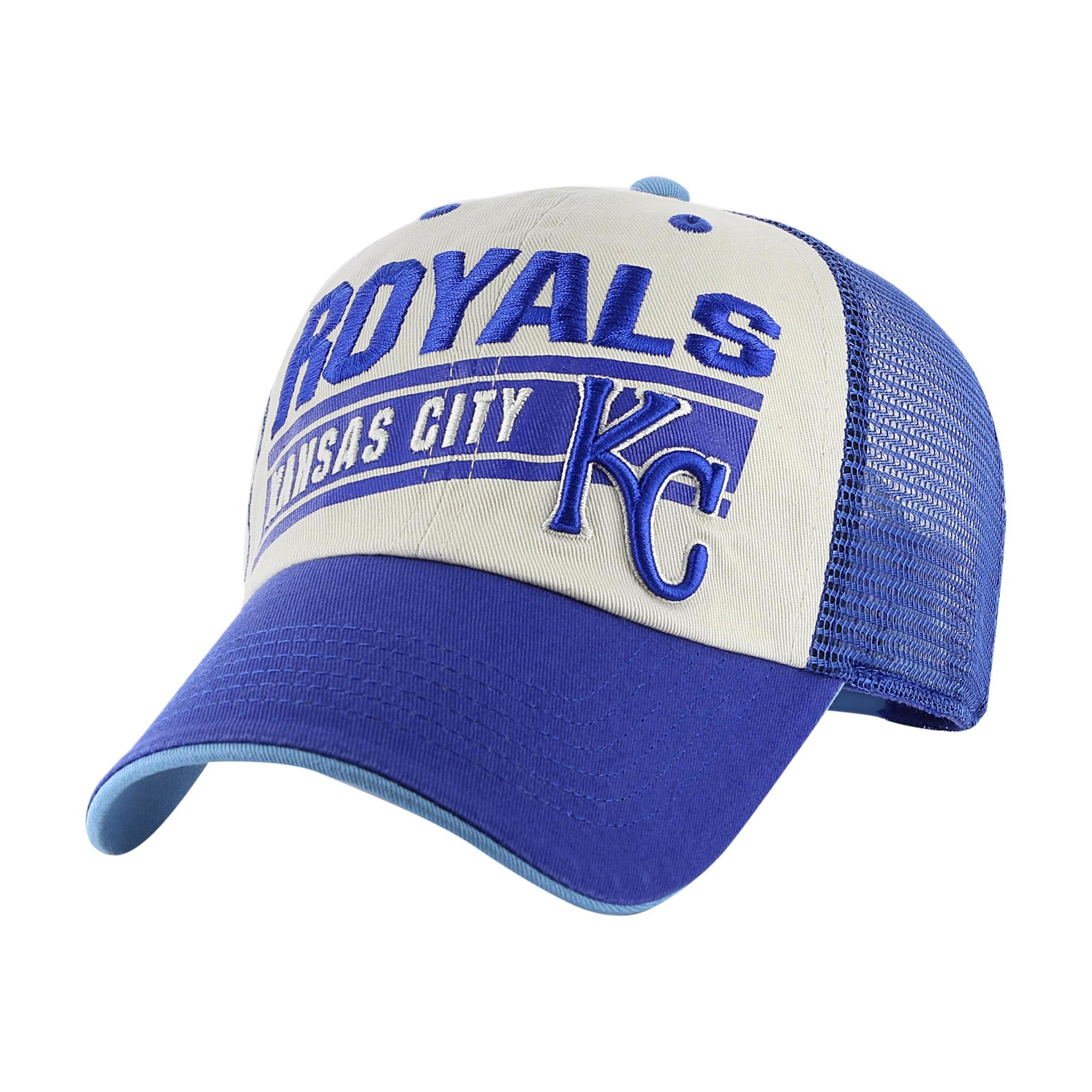 buy popular a2082 90e9a Kansas City Royals Fan Favorite Raster Adjustable Baseball Cap, Kids Unisex