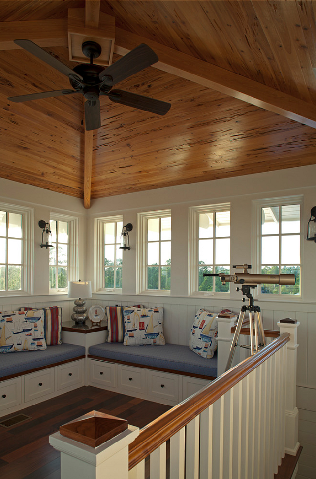 Lake House Sitting Play Area With A Window Seat Love The