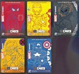 Get This Special Offer #10: MARVEL MASTERPIECES 2007 UPPER DECK COMPLETE SUBCASTS INSERT SET 1 OF 5 - 5 OF 5