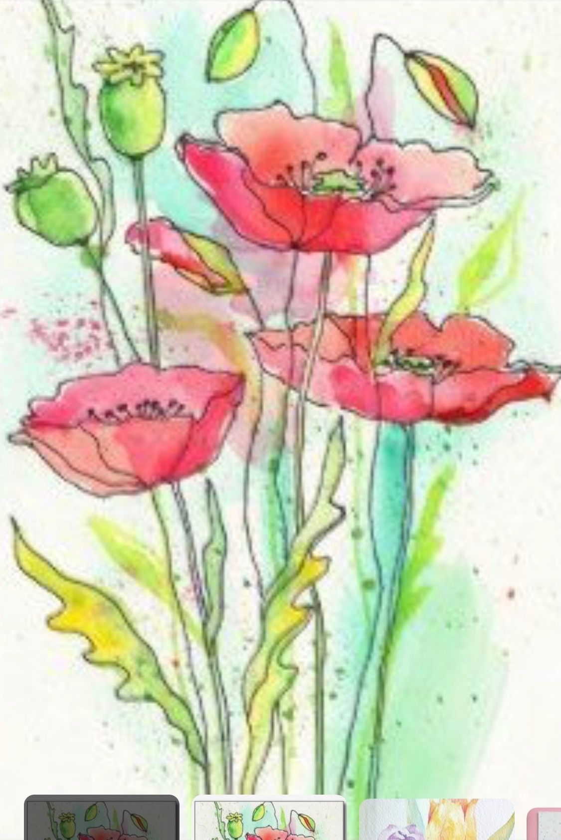 Pin By Susan Caton On Things To Paint Watercolor Art Watercolor