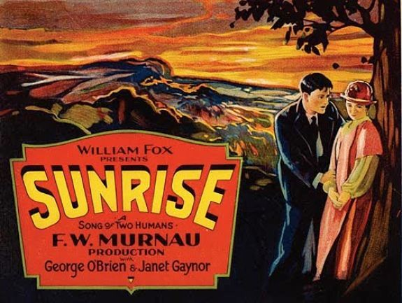 """""""Sunrise: Song of Two Humans"""" a silent film from 1927."""