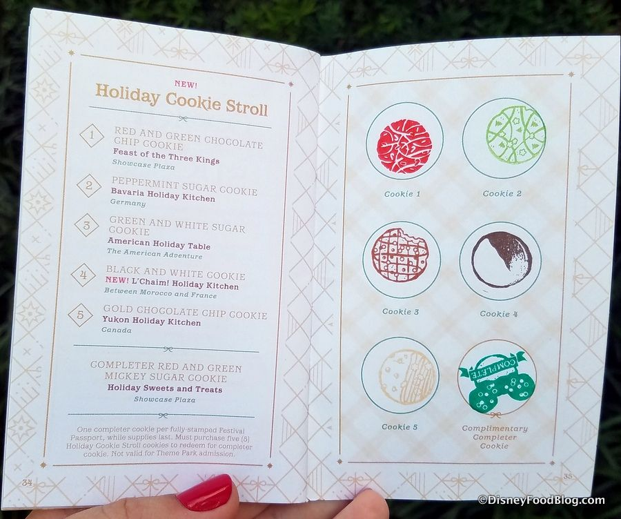 Join Us on the Cookie Stroll at Epcot's 2018 International