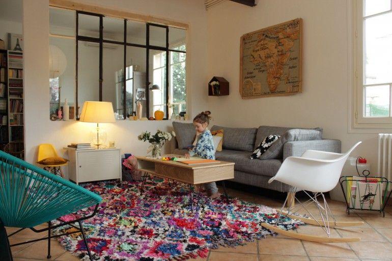 D co le pr cieux tapis et le nouveau salon cahier tendances maison pinte - Tapis de salon chez ikea ...