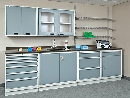 Dental Processing Area Cabinets