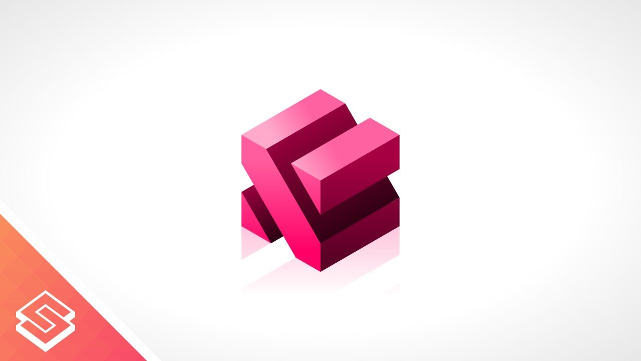 Inkscape Tutorial 3d Abstract Cube Graphic Design Tutorials Tutorial Design Tutorials