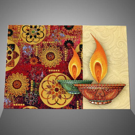 Diwali Homemade Greeting Cards Ideas Handmade Diwali Greeting Cards Diwali Greeting Cards Diwali Cards