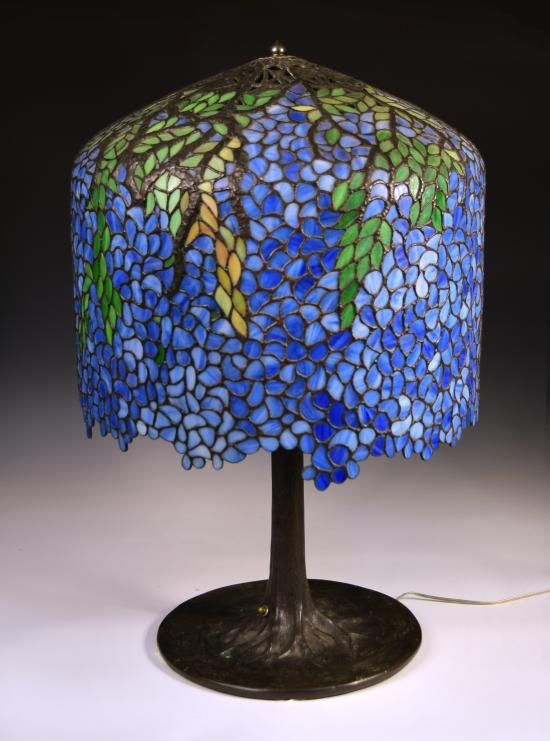 Tiffany style wisteria table lamp modern coffee tables and accent a300415 lot 144 a tiffany style wisteria table lamp the aloadofball Image collections