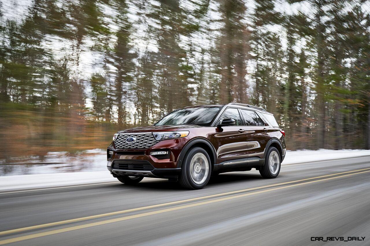 Ford Enthullt 2020 Explorer Hinterradantrieb Und Neue Technologie Erwecken Das Ikonische Typenschild Zu Neuem L Pickup Trucks 2020 Ford Explorer Ford Explorer