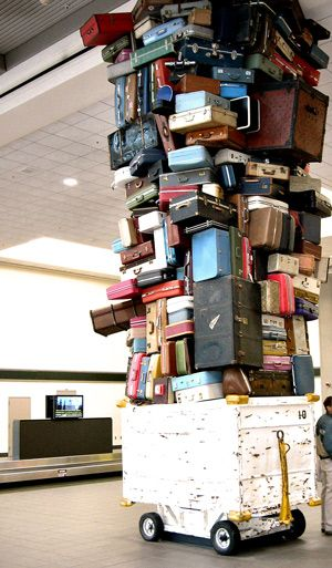 Don't let your luggage pile up: travel light, and travel happy! Best Western Kelowna's tips on being a minimalist traveler: http://www.bestwesternkelownahotel.com/blog/travel-tips/travel-light-travel-happy.html #bwkelowna