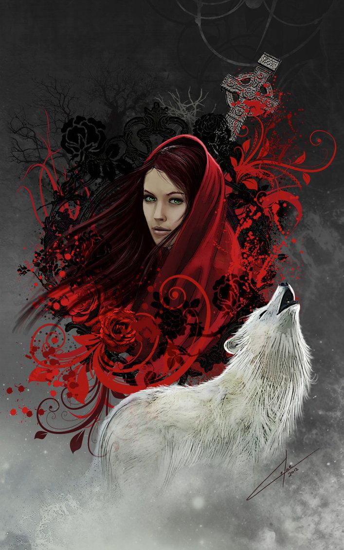 The Circle of XIII by *CelineSIMONI Red riding hood, Red
