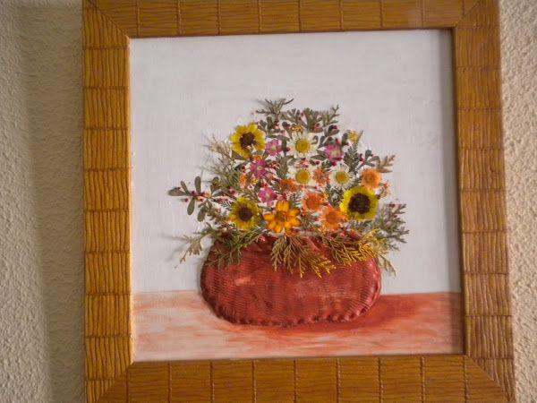 prensar flores manualidades - Buscar con Google