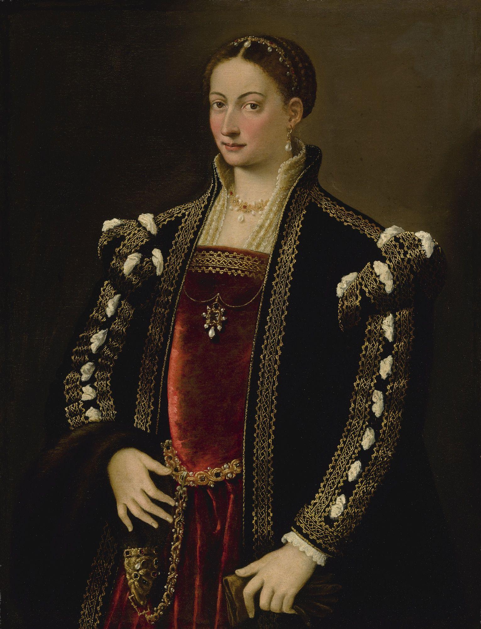 Bernardino Campi PORTRAIT OF A LADY, SAID TO BE IPPOLITA ...