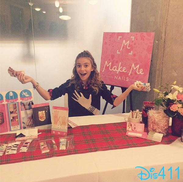 Photos: G Hannelius Promoted Make Me Nails App December 9, 2014 ...
