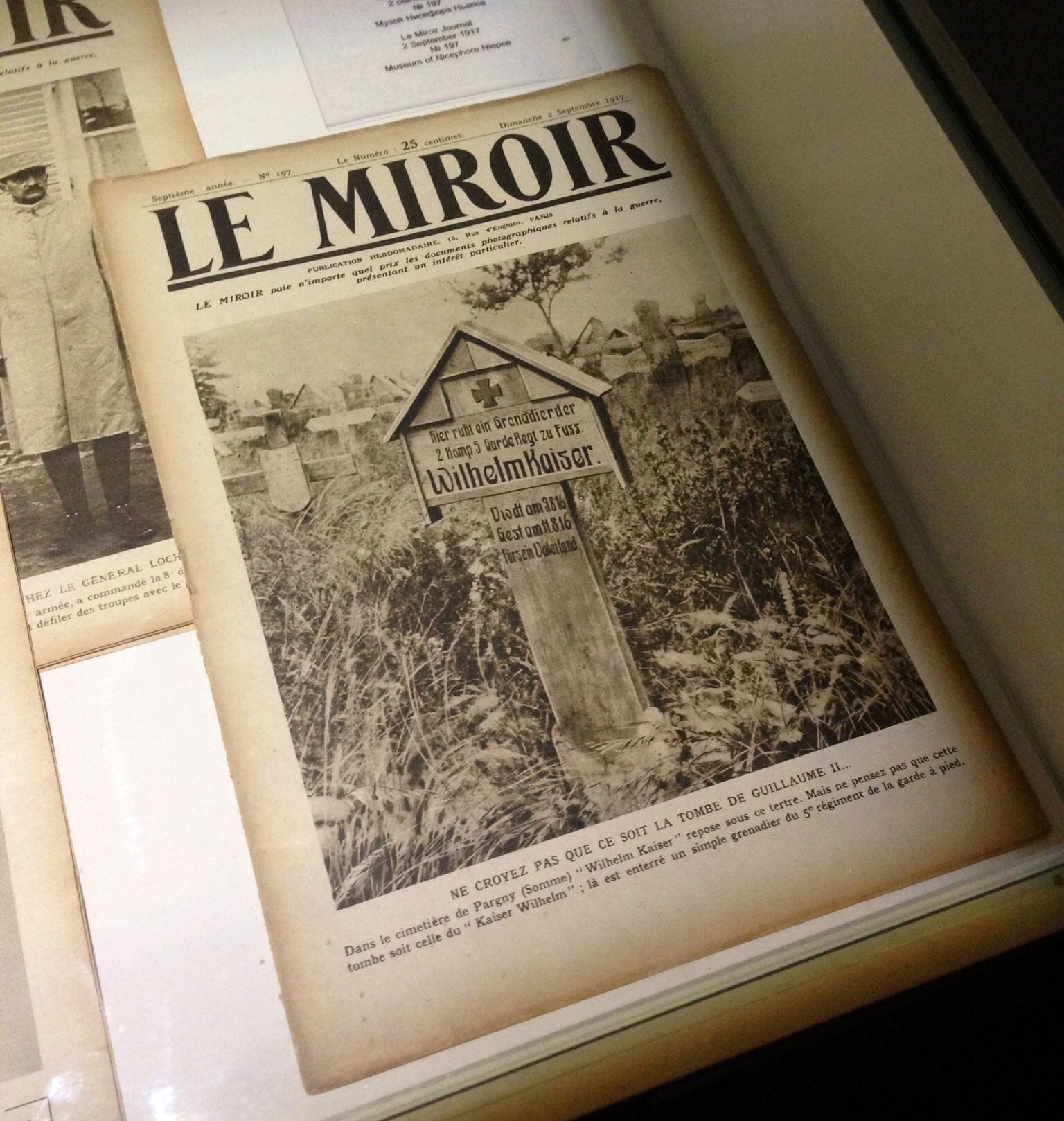 Le Mirror Journal, 1917