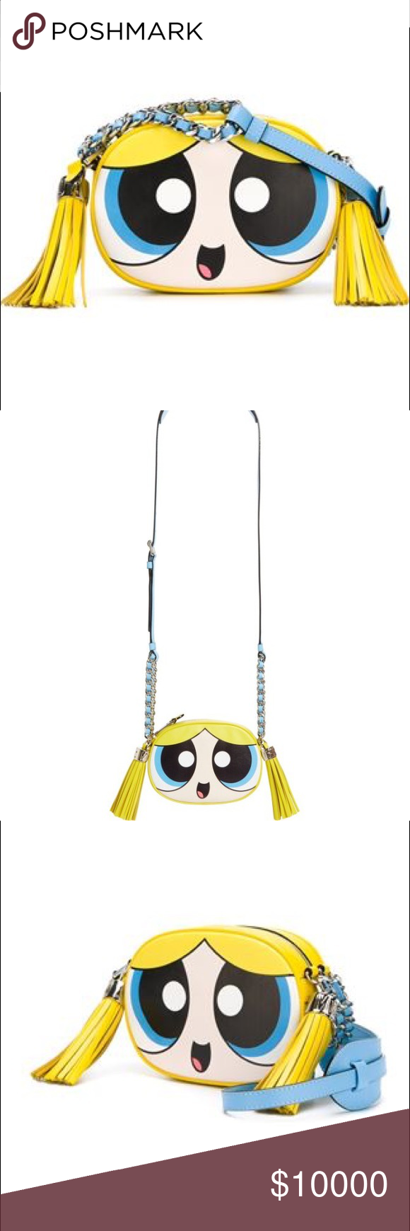 d0fcb2019aa Looking for Moschino Powerpuff Girls Bubbles purse ISO Moschino bubbles  powerpuff girls purse! Can be brand new or slightly used! Must be 325$ to  buy!
