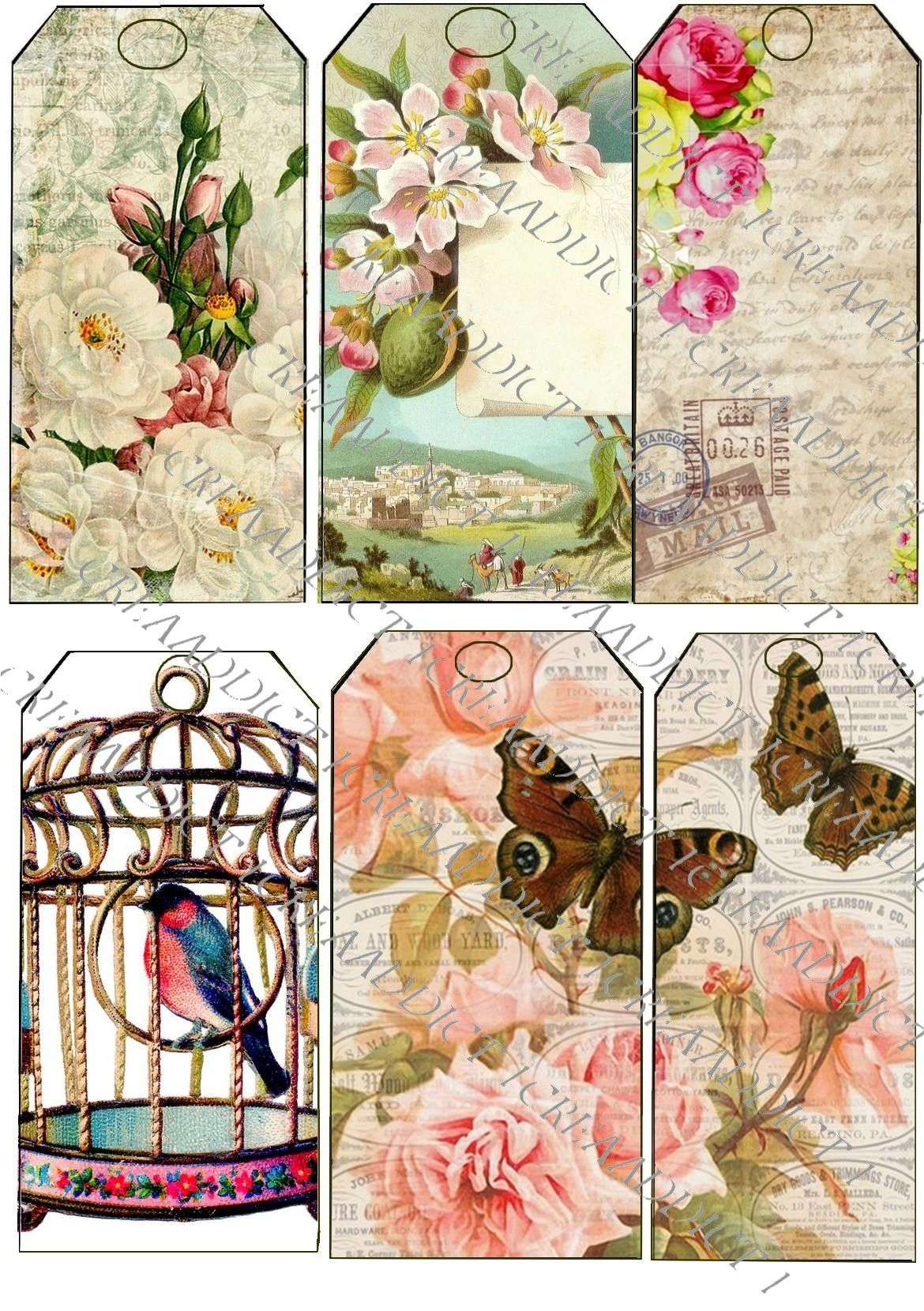 Copie De Etiquette Secret Garden Style With Images