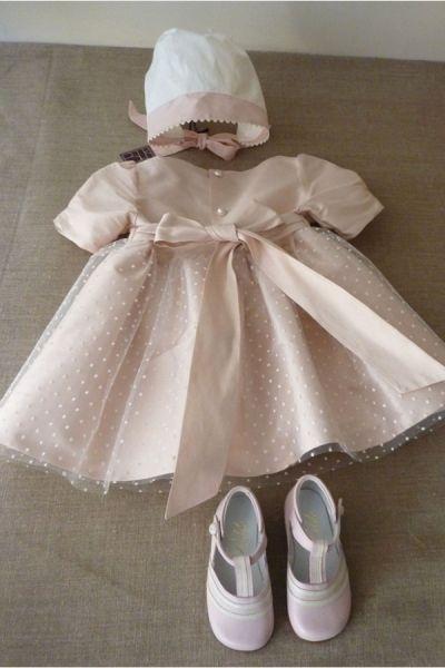 sweet girly ceremony baby dress