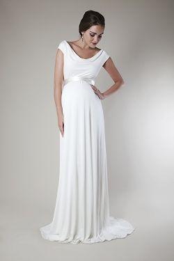 Edel Und Leicht Brautkleider Fur Schwangere Von Tiffany Rose