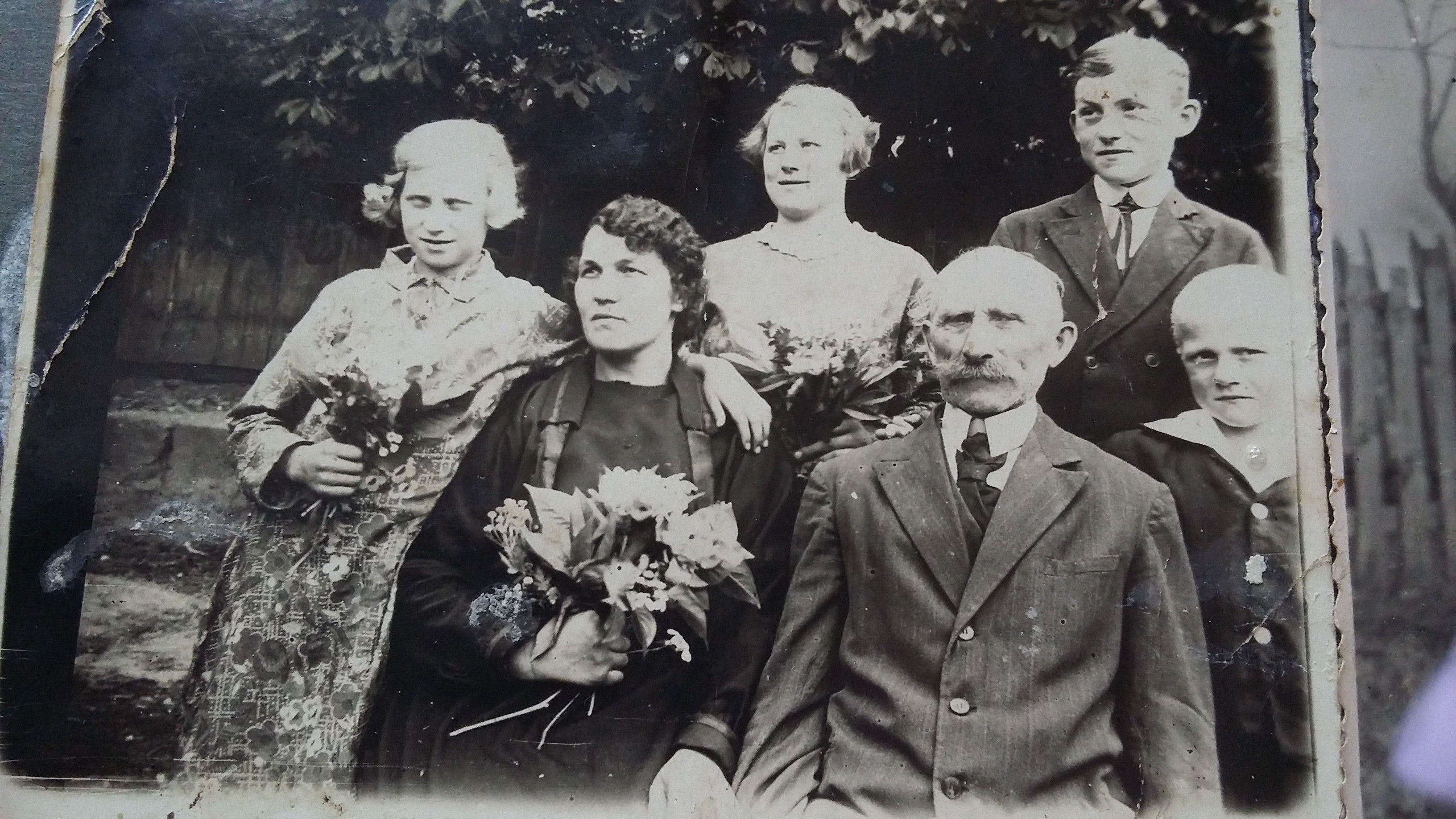 Barzowski Franciszek z drugą żoną Anną Pałubitzką ,,rok 1935