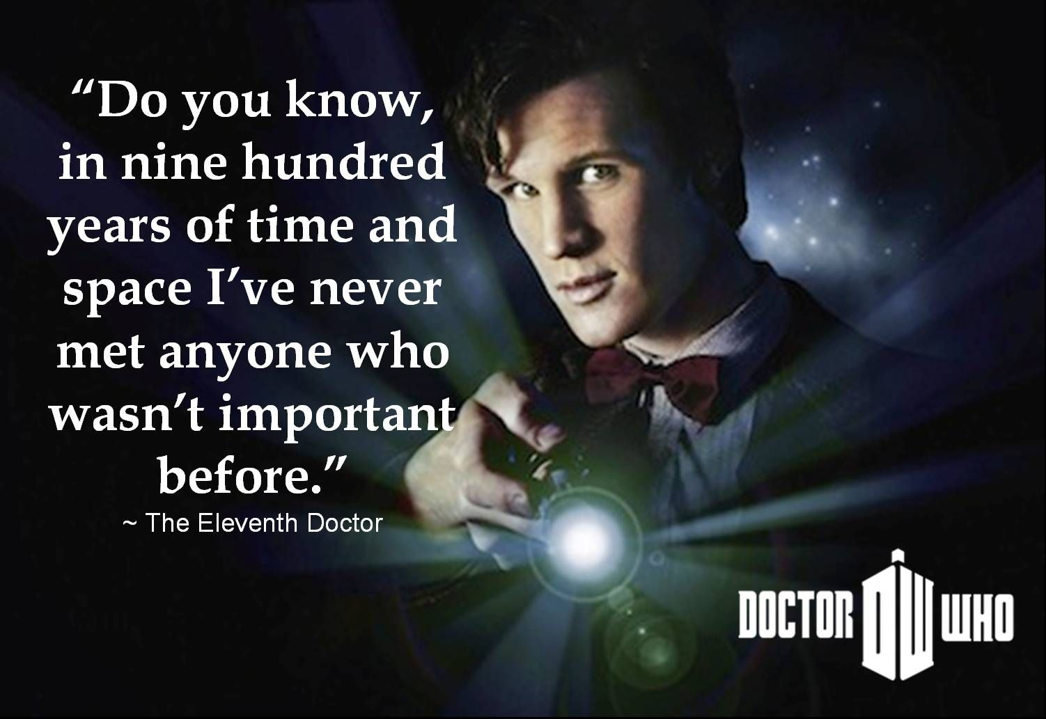 From Doctor Who - A Christmas Carol | Original doctor who, Doctor who quotes