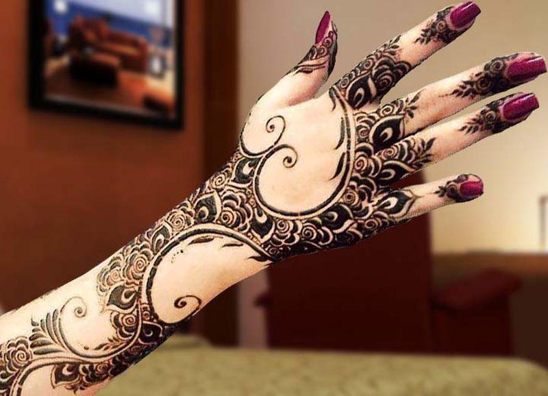 إليك بالصور احلى نقش حناء اماراتي Mehndi Designs For Girls Eid Special Mehndi Design New Mehndi Designs