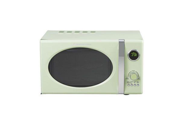 Sommerküche Einrichten : Mikrowelle in sommerlicher pistazienfarbe malibu style pinterest