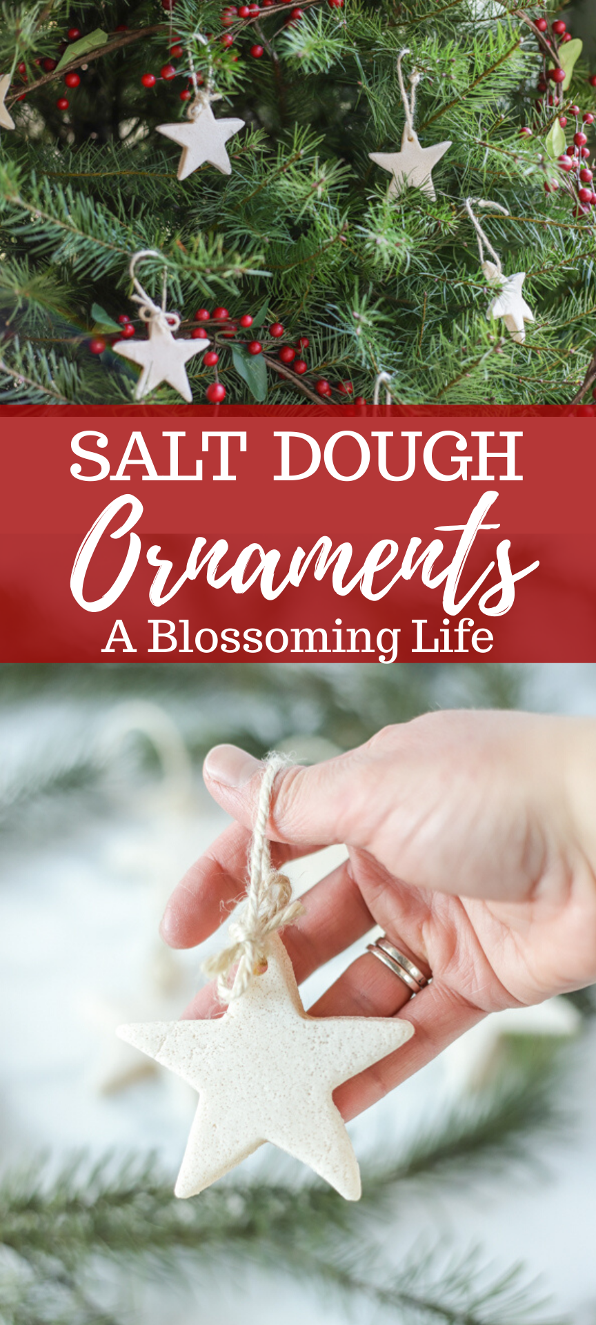 This Simple Recipe For Homemade Salt Dough Ornaments Makes For Beautiful Homemade Christmas Ornaments Diy Diy Christmas Tree Ornaments Kids Christmas Ornaments