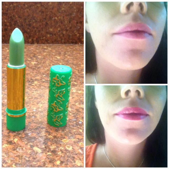 Henna Lips: Henna Lipstick Review & Experiment #henna #greens #itworks
